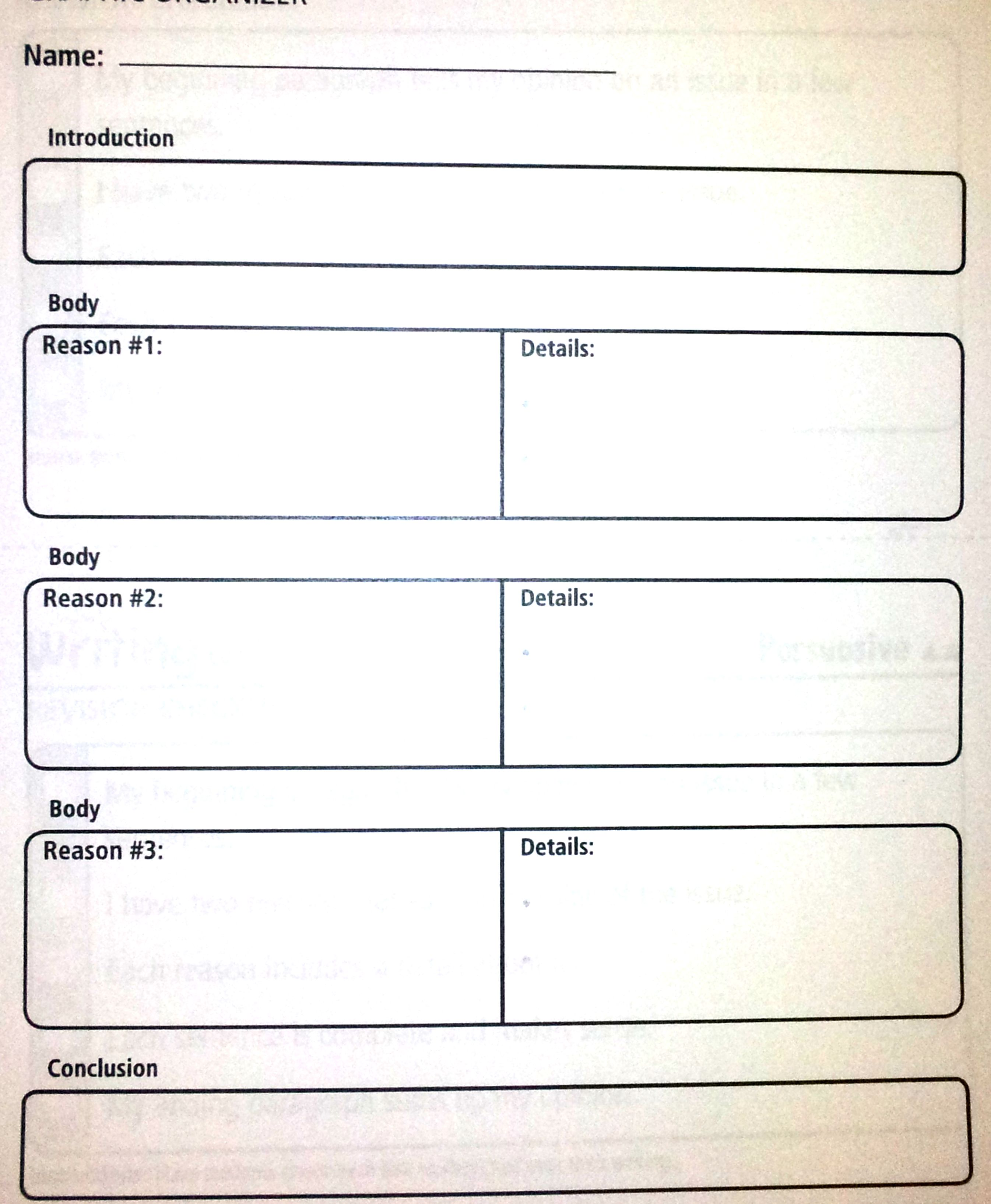 paragraph essay graphic organizer Use these graphic organizers and helpful tips to have your students sharing their opinions in clear and concise paragraphs.